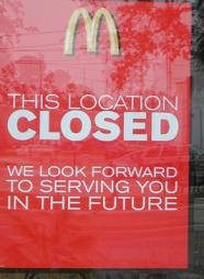 McDonalds-Closing