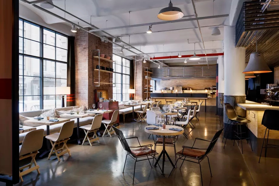 Chelsea Market Adds a Restaurant Inside a Furniture Store –